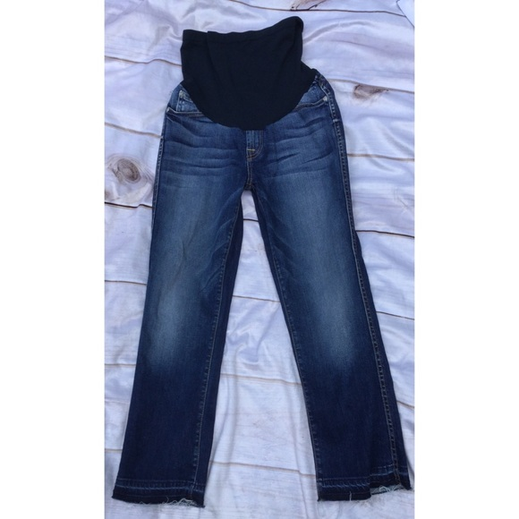0cdc5143166b4 7 For All Mankind Denim - 7 For All Mankind P Collection Maternity Jeans 26